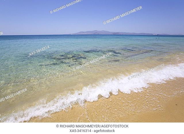 Plaka Beach, Naxos Island, Cyclades Group, Greece