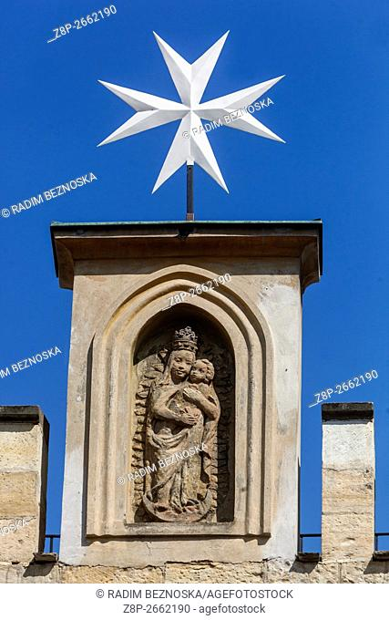 Church of Virgin Mary under Chain, Lesser Town, Prague, Czech Republic