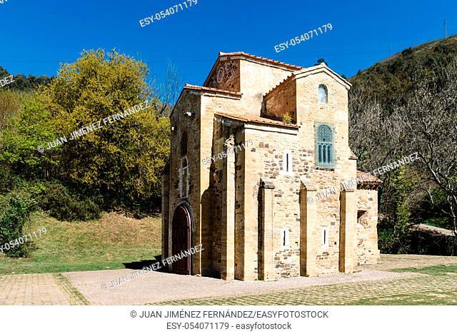 Church of Saint Michael of Lillo, San Miguel de Lillo. A pre-romanesque church built in a mountain near Oviedo