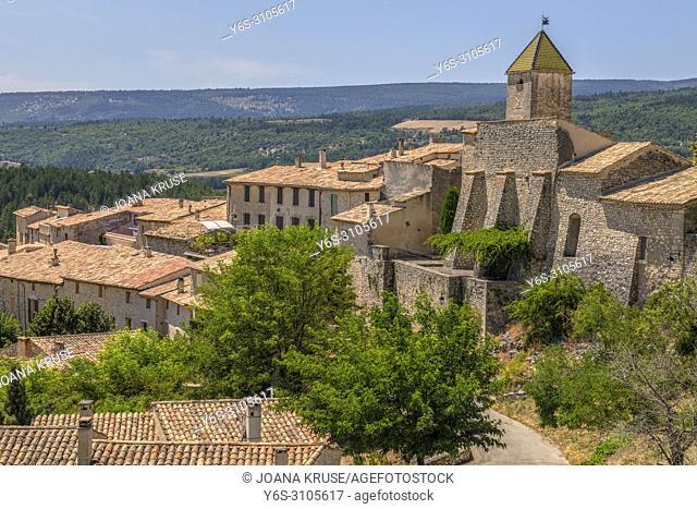 Aurel, Alpes-de-Haute-Provence, France, Europe