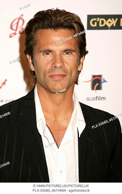 Lorenzo Lamas 01/14/06 G'Day LA: Australia Week 2006 - Penfolds Icon Gala Dinner @ The Hollywood Palladium, Hollywood photo by Fuminori Kaneko/HNW / PictureLux...