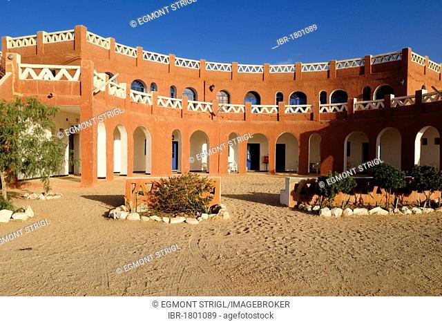 Hotel, Campment at Tamanrasset, Sahara desert, Algeria, North Africa