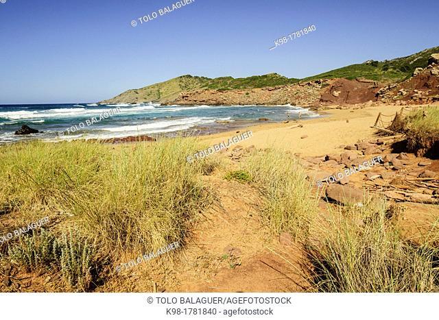Pilar Beach, Ferreries, Menorca, Balearic Islands, Spain, Europe