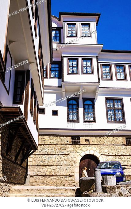 Traditional architecture, Ohrid, Macedonia