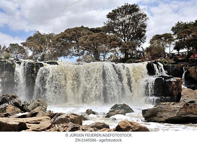 Fourteen Falls near Thika, Kilimambogo, Kenya