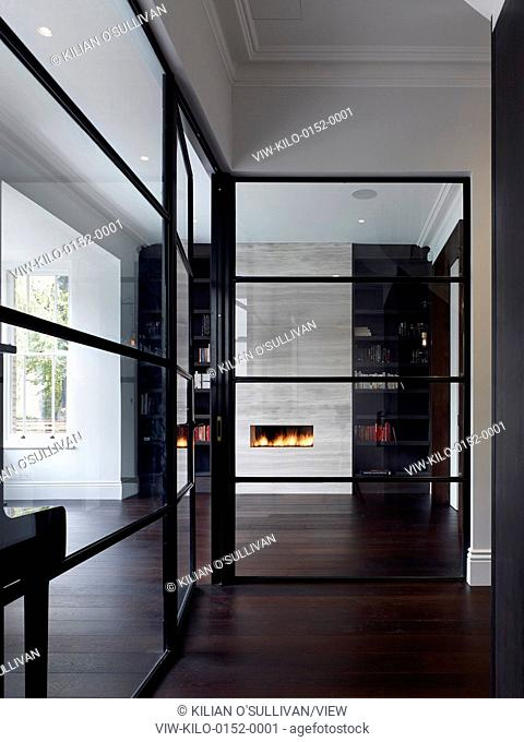 Day room. Maida Vale House, London, United Kingdom. Architect: Stiff + Trevillion Architects, 2014