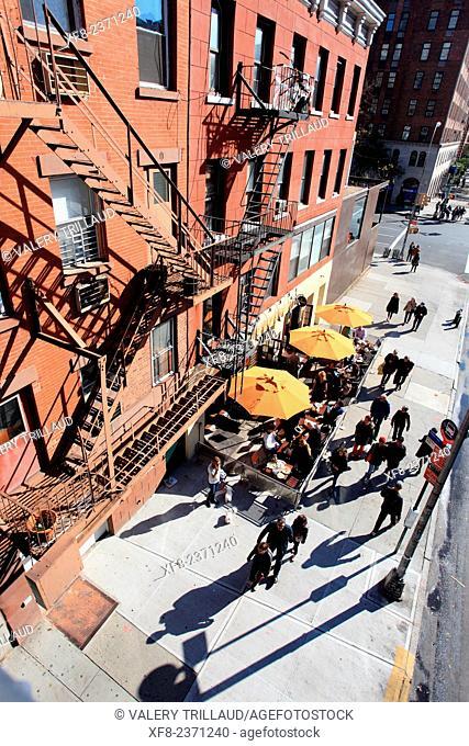 West village, Manhattan, New York City, New York, USA