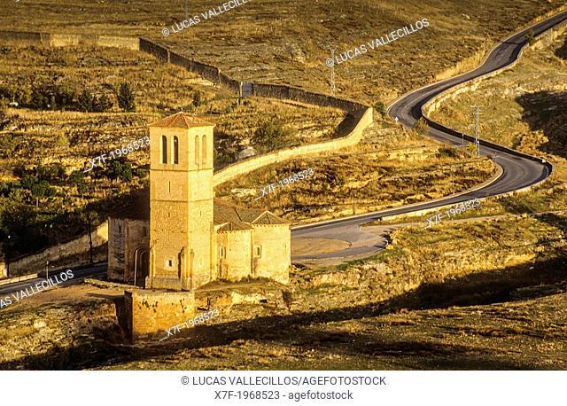 La Vera Cruz church, Segovia, Castilla-Leon, Spain