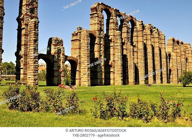Aqueduct in Mérida, Spain