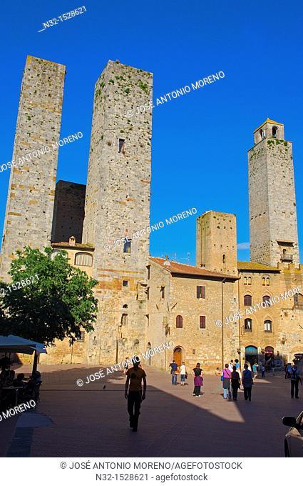 San Gimignano, Tuscany, Italy, Siena Province, UNESCO World Heritage Site, Europe