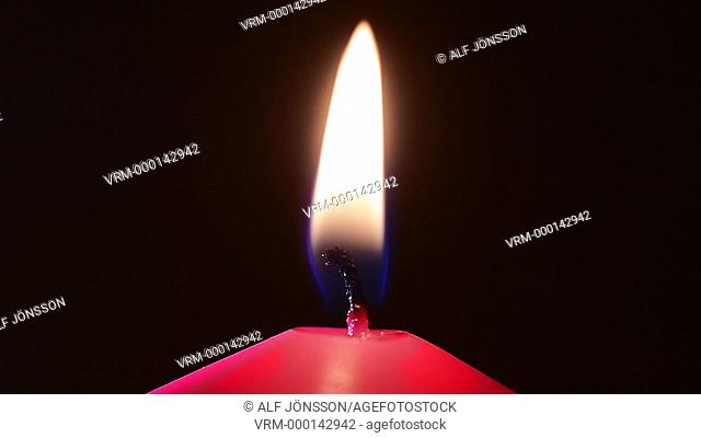 Switch off a candle light