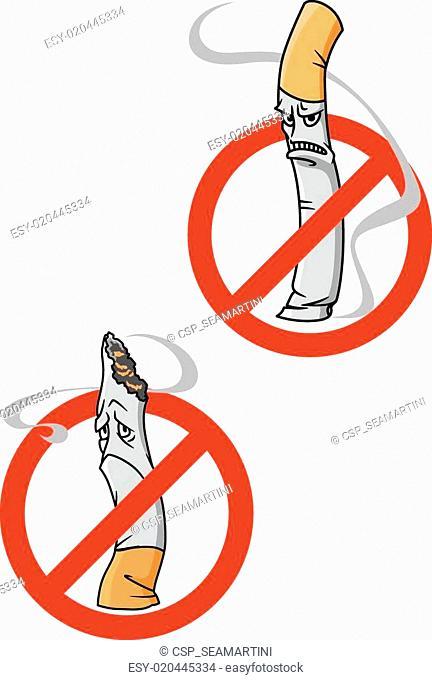 No Smoking Allowed warning signs