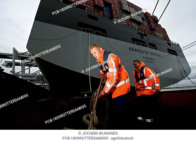 Netherlands, Port of Rotterdam, the Dutch rowers KRVE