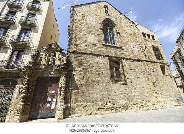 Santa Maria Cathedral. Tortosa. 1597. Baroque. Porta de l'Olivera (Olive door)