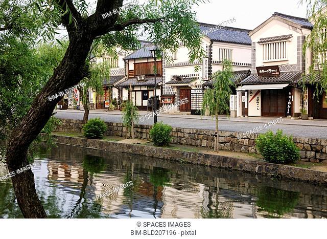 Japanese Canal Scene