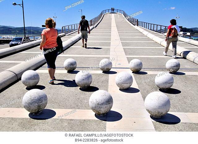 Mirador de las Marismas building, port of Santoña, Cantabria, Spain
