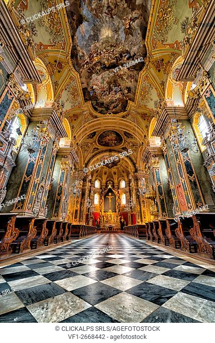 Bressanone cathedral, Brixen, South Tyrol, Italy