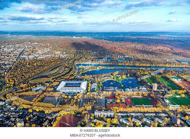 Schauinsland Travel Arena, Wanheim Sports Park, Wedau Sports Park, Wedau at the Wedau Regatta Course, Duisburg, Ruhr Area, North Rhine-Westphalia, Germany