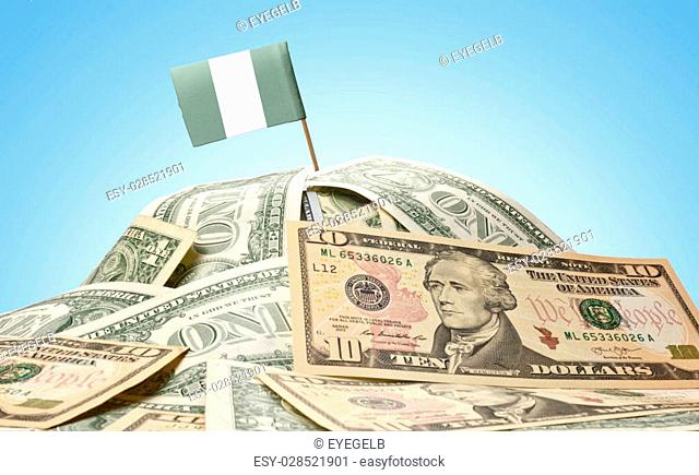 Bills Nigerian Currency Stock Photos