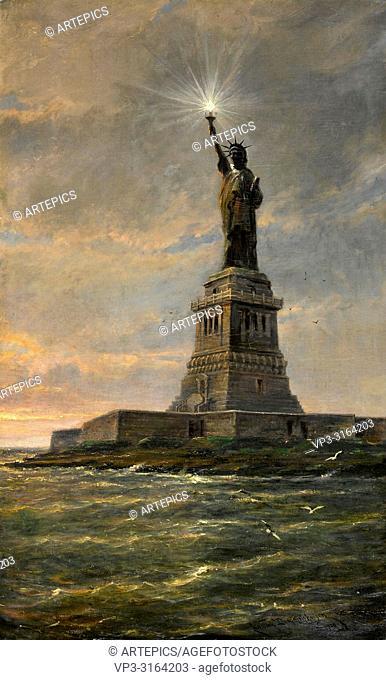 Dommersen Cornelis Christiaan - Statue of Liberty