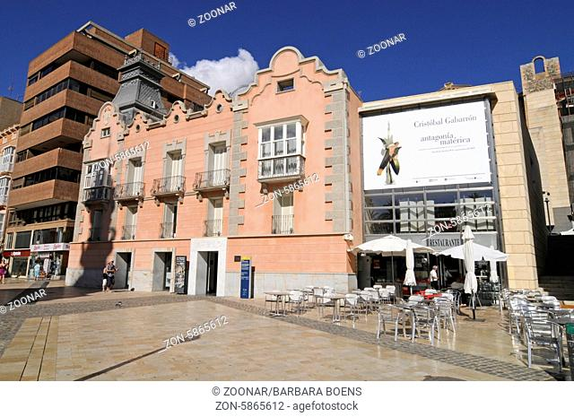 Museo del Teatro Romano, roman theatre, museum, Cartagena, Murcia Region, Spain, Europe, Museo del Teatro Romano, roemisches Theater, Museum, Cartagena