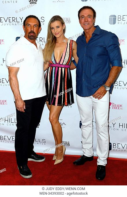 Beverly Hills Rejuvenation Center Grand Opening Event In Downtown Summerlin To Benefit The Shade Tree Featuring: Dan Holtz, Joanna Krupa