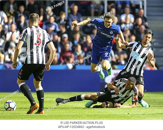 2018 EPL Premier League Football Newcastle United v Chelsea May 13th. 13th May 2018, St James Park, Newcastle upon Tyne, England; EPL Premier League football