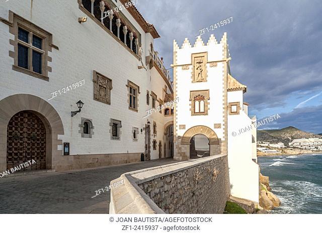 Palau Maricel, Sitges,Catalonia,Spain