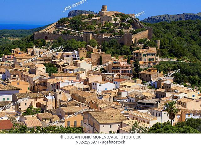 Capdepera, Castle, Mallorca Island, Majorca, Balearic Islands, Spain, Europe