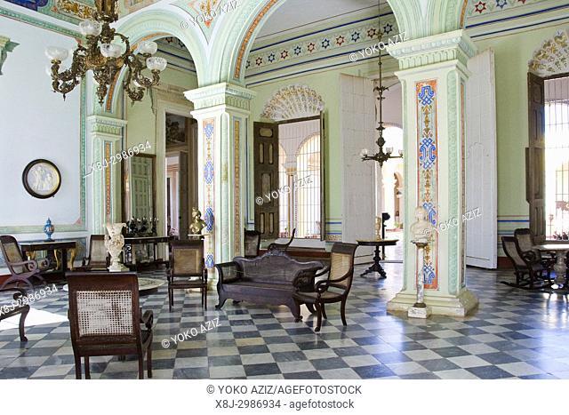 Cuba, Trinidad, palacio cantero museum