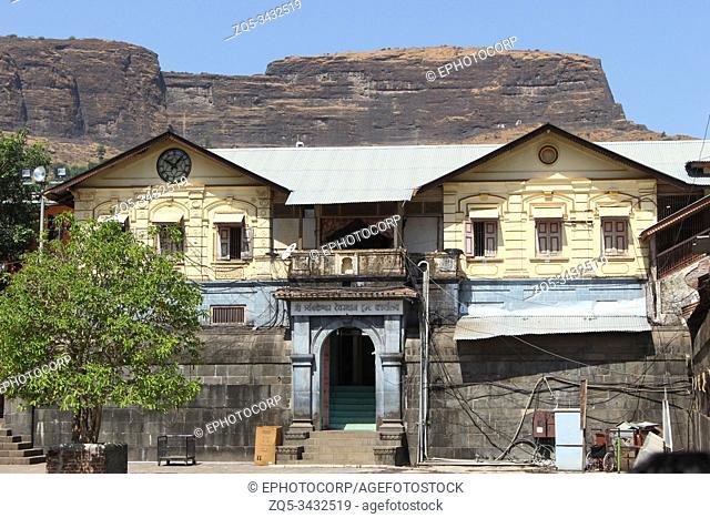 Trimbakeshwar temple trust old office, Tryambakeshwar, Nashik, Maharashtra, India