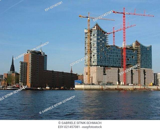 HafenCity und die Elbphilharmonie
