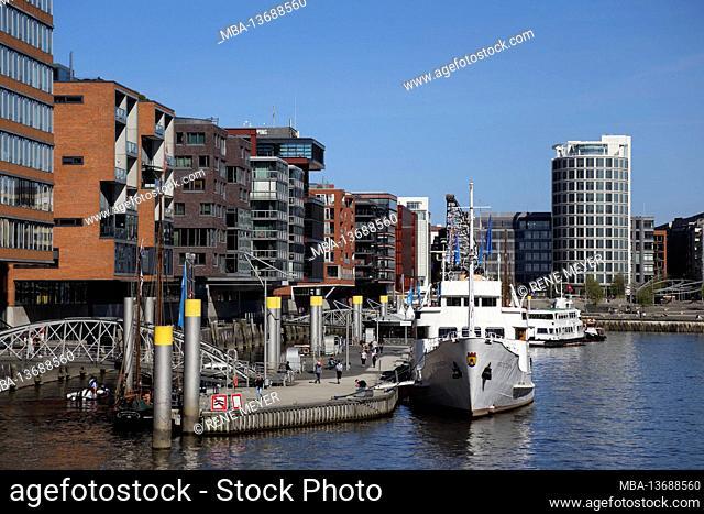 Germany, Hamburg, Sandtorhafen HafenCity