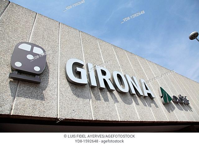 Girona Train Station, Spain, Europe