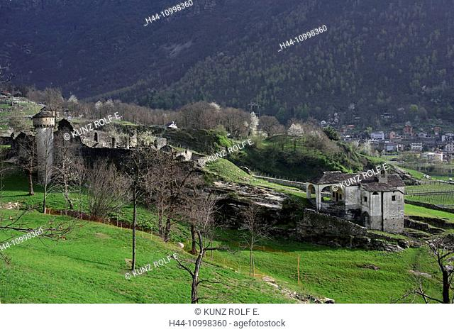Castle di Serrvalle, castle, ruin
