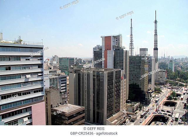 Aerial view of São Paulo, Brazil
