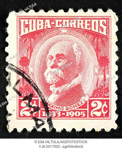 Cuban postage stamp