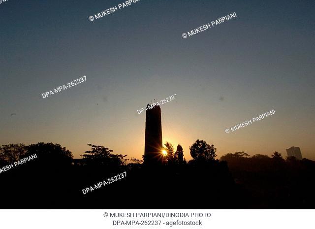 Elphinstone Mills Chimney, Mumbai, Maharashtra, India, Asia