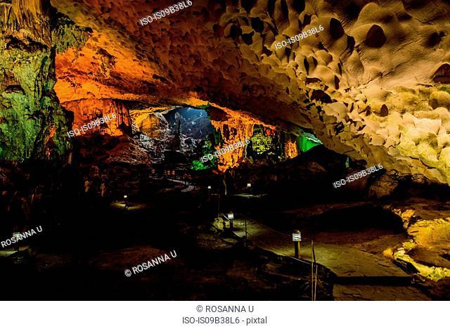 Inside of Hang Son Doong Cave, Vietnam