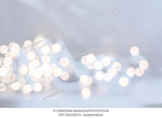 Abstract festive golden light with the resemblance of coins for background and copy space