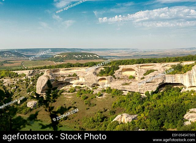 Eski-Kermen is a medieval fortress city in the South-Western part of the Crimean Peninsula