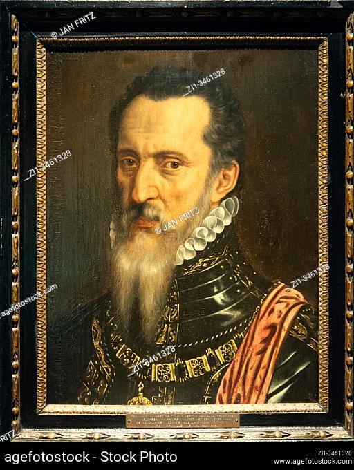'Fernando Alvarez de Toledo (Duke of Alba)', 1568, Willem Key