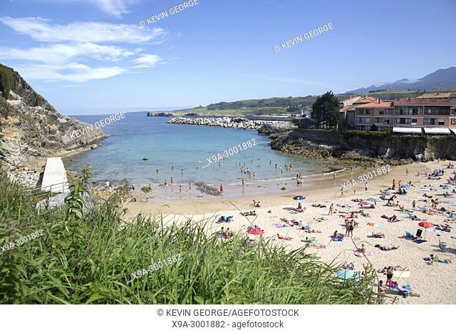 Sablon Beach, Llanes, Austurias; Spain