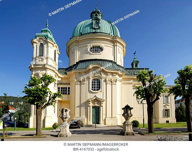 Parish Church of St. Margaret, Margaret's Church, Bernsdorf, industrial district, Lower Austria, Austria
