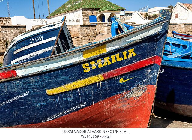 Port Esaouira, Morocco