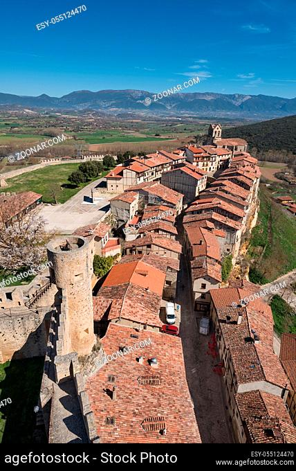 Frias medieval village in Burgos province, Castile and Leon, Spain