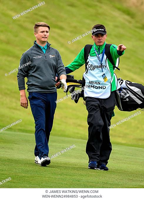 The Celebrity Cup 2016 at Celtic Manor, Wales Featuring: Brian Ormond Where: Wales, United Kingdom When: 09 Jul 2016 Credit: James Watkins/WENN.com