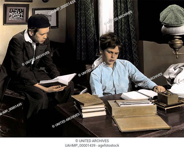 Wilde Jahre in Lawrenceville, (THE HAPPY YEARS) USA 1950, Regie: William A. Wellman, DEAN STOCKWELL (re), Stichwort: Schüler, Internat, Pauken