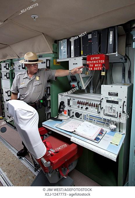 Cactus Flat, South Dakota - The underground launch control center for Minuteman II missiles  The site was deactivated following the end of the Cold War and is...