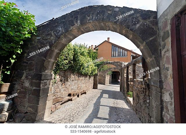 Arcs in Potes  Santander  Cantabria  Spain